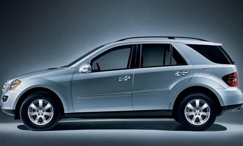 Mercedes-Benz ML 320 CDI, Numar usi