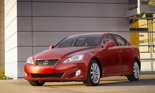 Lexus IS 350, Numar usi