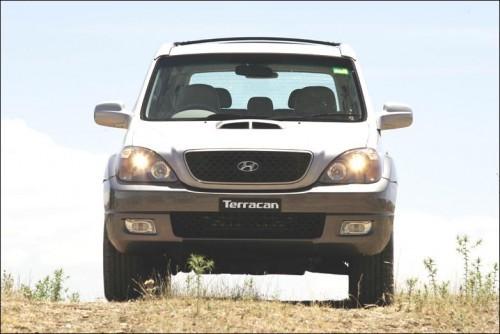 Hyundai Terracan, Numar usi