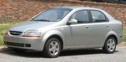 Chevrolet Aveo 4 usi, Numar usi