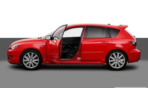 Mazda 3 Sport, Numar usi