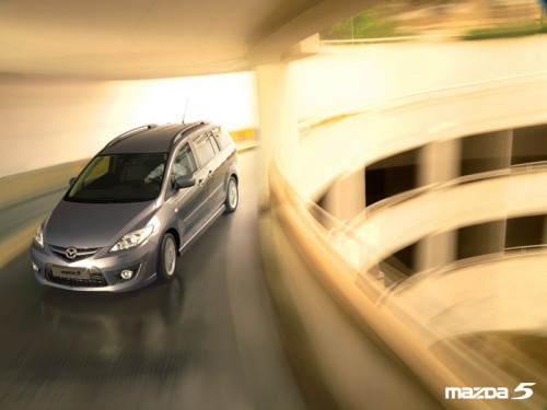 Mazda 5, Numar usi