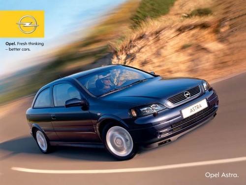 Opel Astra Classic II 4 Usi, Numar usi
