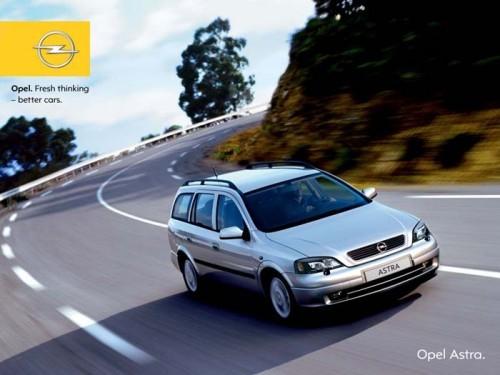 Opel Astra Classic II Caravan, Numar usi