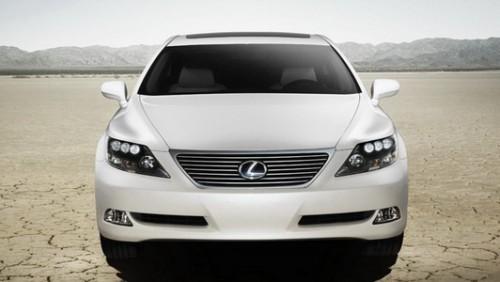 Lexus LS 600 H, Numar usi