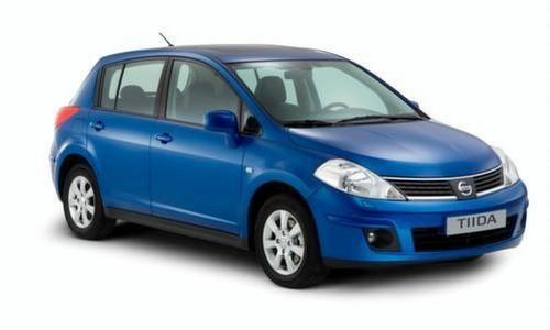 Nissan Tiida, Numar usi