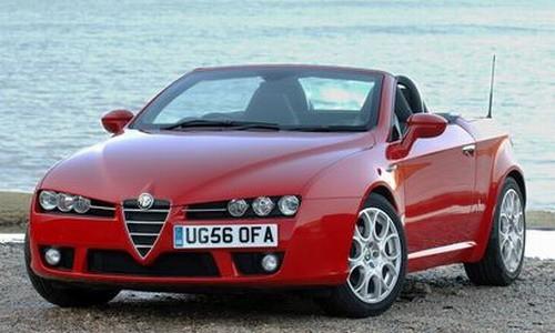 Alfa Romeo Spider, Numar usi