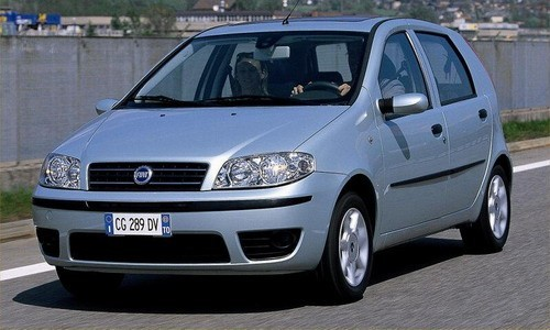 Fiat Punto Classic, Numar usi