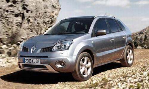 Renault Koleos, Numar usi