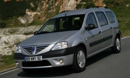 Dacia Noul Logan MCV, 7 locuri, Numar usi
