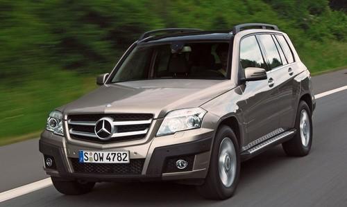 Mercedes-Benz Clasa GLK, Numar usi