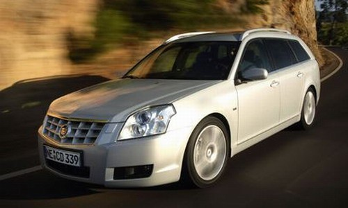 Cadillac BLS wagon, Numar usi