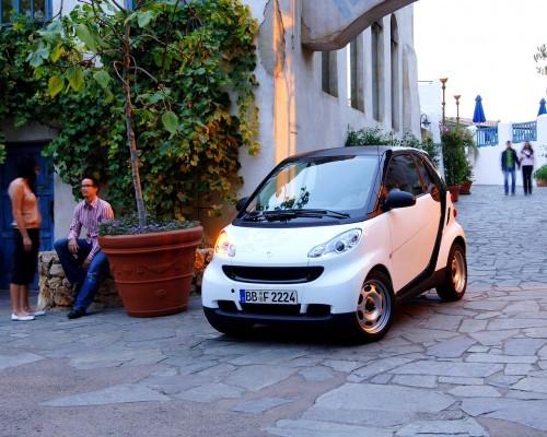 Smart Fortwo Coupe, Numar usi
