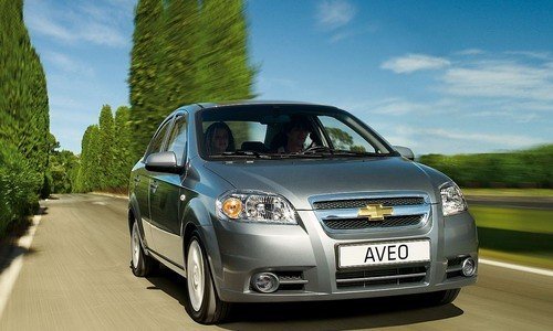 Chevrolet Aveo, 4 usi, Numar usi