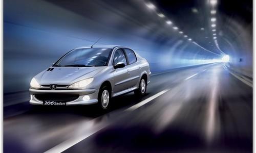 Peugeot 206, sedan, Numar usi