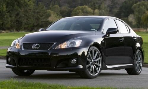 Lexus IS F, Numar usi