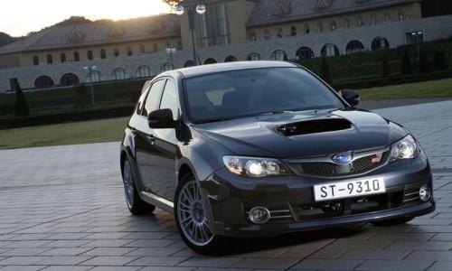 Subaru Impreza WRX STI, Numar usi