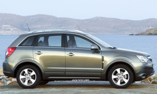 Opel Antara, Numar usi