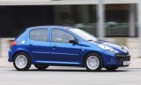 Peugeot 206+, Numar usi