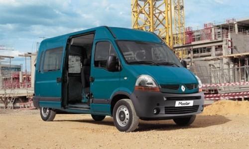 Renault Master Combi 8+1 locuri, Numar usi