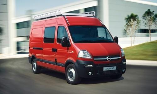 Opel Movano, Numar usi
