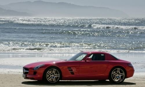 Mercedes-Benz SLS AMG, Numar usi