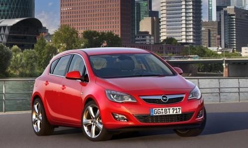 Opel Noul Astra, Numar usi