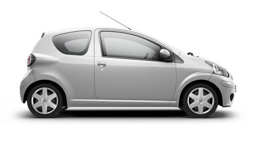 Toyota Noul Aygo, 3 usi, Numar usi