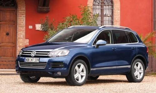 Volkswagen Noul Touareg, Numar usi