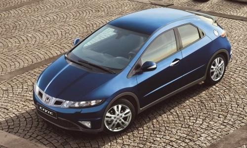 Honda Civic 5D, Numar usi