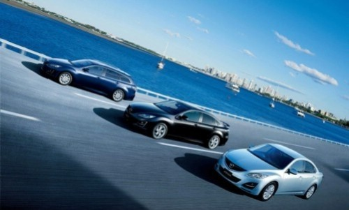 Mazda 6 Facelift Sport (5 usi), Numar usi