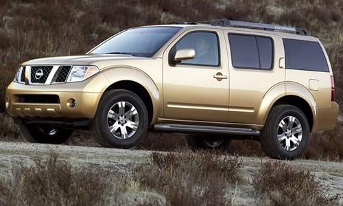 Nissan Noul Pathfinder, Numar usi