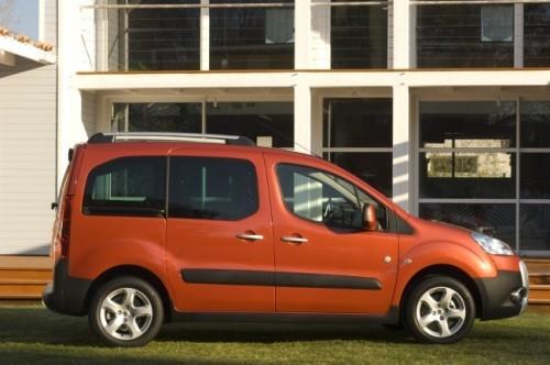 Peugeot Partner Tepee, Numar usi