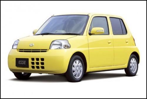 Daihatsu Esse, Numar usi