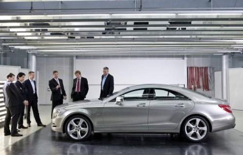 Mercedes-Benz CLS, Numar usi